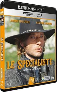Le spécialiste (1969) de Sergio Corbucci - Packshot Blu-ray 4K Ultra HD