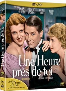 Une heure près de toi (1932) de Ernst Lubitsch et George Cukor - Packshot Blu-ray