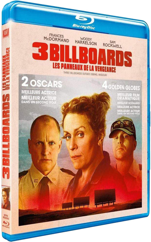 3 Billboards - Jaquette 3D Blu-ray