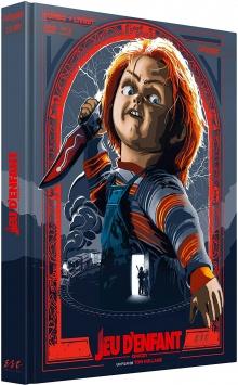 Chucky - Jeu d'enfant (1988) de Tom Holland - Édition Collector Blu-ray + DVD + Livret - Packshot Blu-ray
