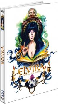Elvira, maîtresse des ténèbres (1988) de James Signorelli - Packshot Blu-ray