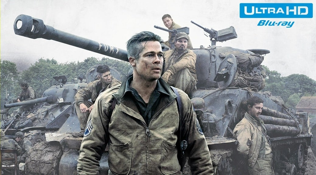 Fury (2014) de David Ayer – Blu-ray 4K Ultra HD