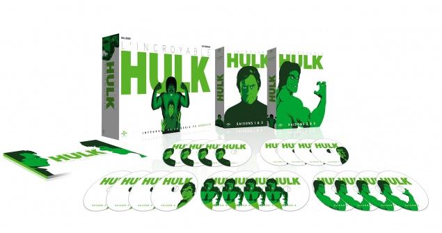 L'Incroyable Hulk : L'intégrale - Packshot Blu-ray