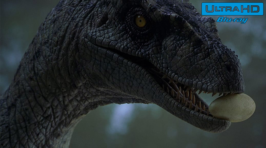 Jurassic Park III (2001) de Joe Johnston – Blu-ray 4K Ultra HD