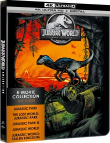 Jurassic World Collection - Limited Edition - Packshot Blu-ray 4K Ultra HD