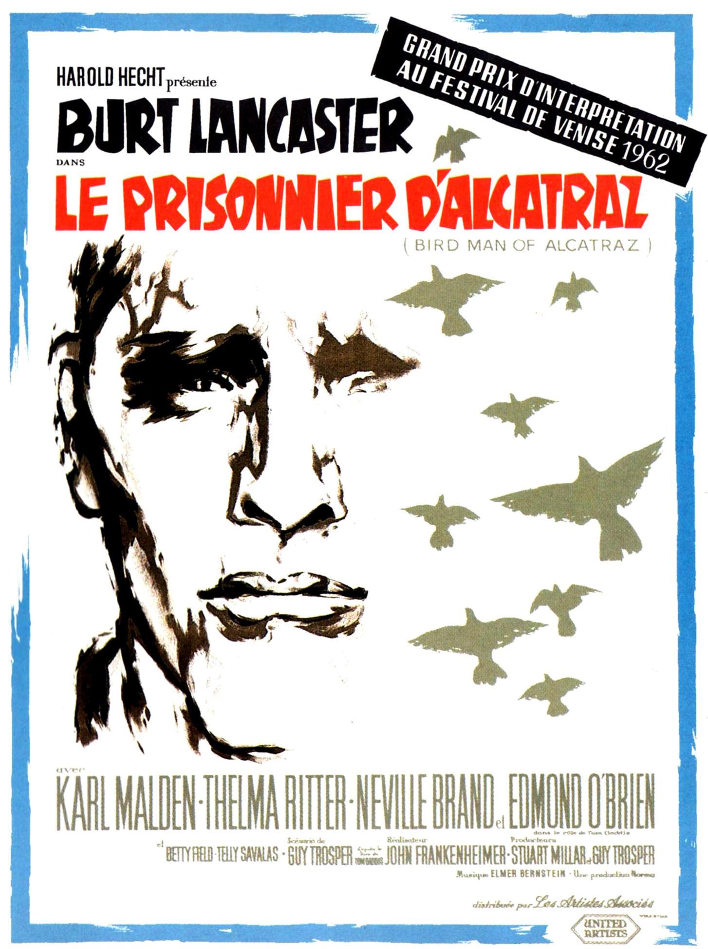 Le Prisonnier d'Alcatraz - Affiche France