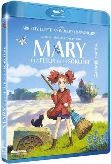 Mary et la fleur de la sorcière (2017) de Hiromasa Yonebayashi - Packshot Blu-ray