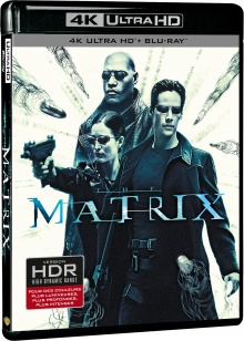 Matrix (1999) de The Wachowski Brothers – Packshot Blu-ray 4K Ultra HD