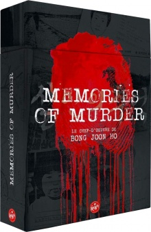 Memories of Murder (2003) de Bong Joon-ho - Édition Ultime Limitée – Blu-ray + DVD + Livret + Storyboard - Packshot Blu-ray
