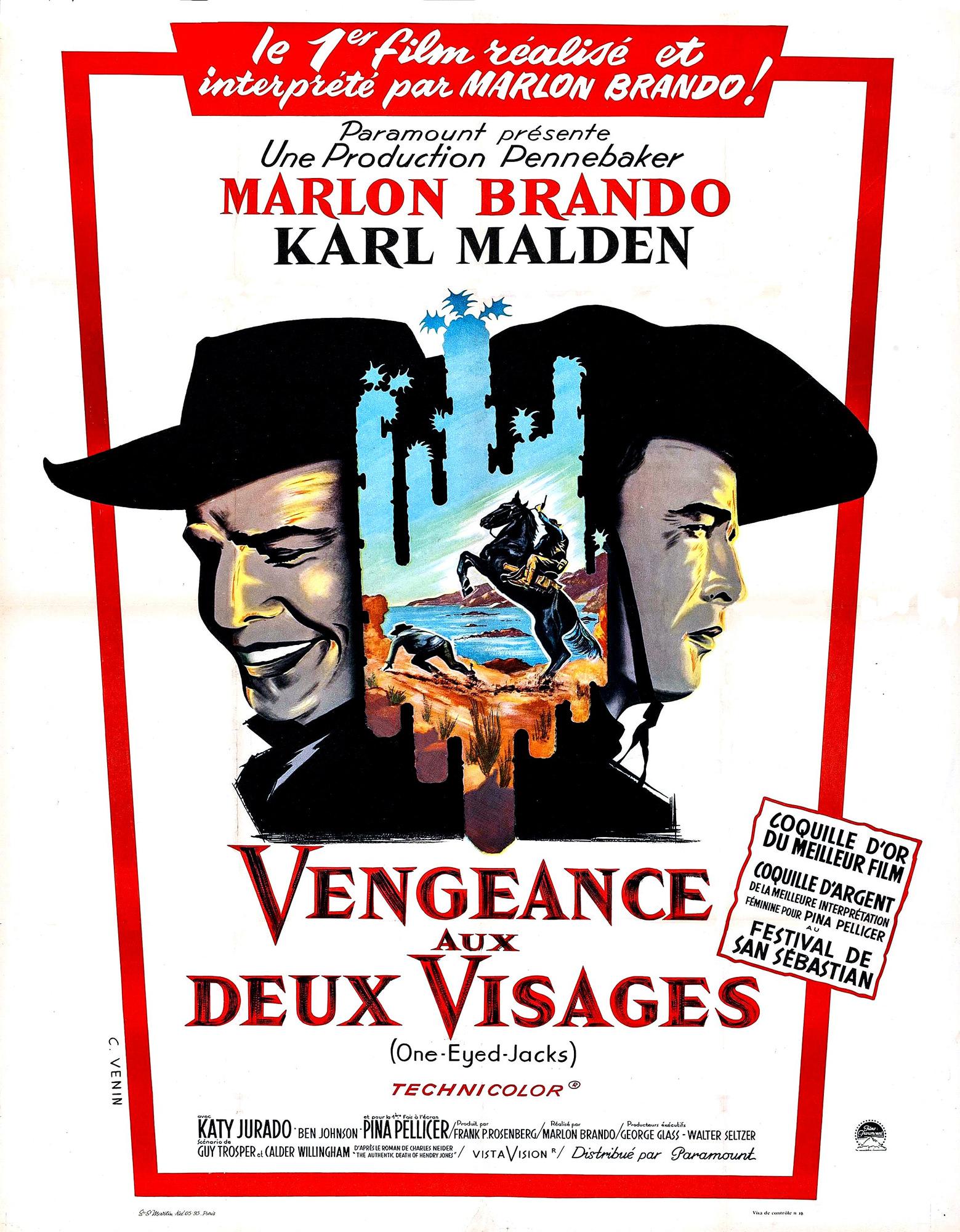 Vengeance aux deux visages - Affiche France
