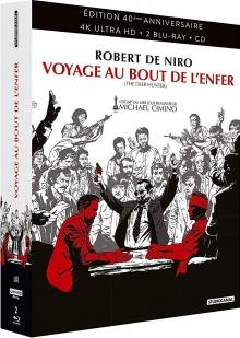 Voyage au bout de l'enfer (1978) de Michael Cimino - Blu-ray 4K Ultra HD - Édition 40ème anniversaire - Packshot Blu-ray 4K Ultra HD