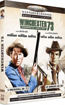 Winchester 73 (1950) de Anthony Mann - Packshot Blu-ray