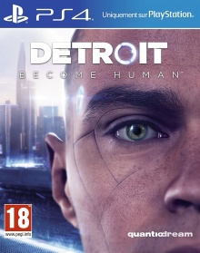 Detroit : Become Human - Packshot PlayStation 4