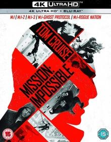 Mission: Impossible : Coffret 5 Films - Packshot Blu-ray 4K Ultra HD