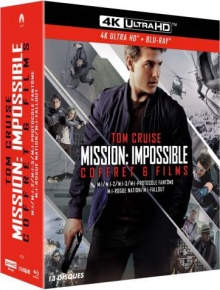 Mission : Impossible - Coffret 6 Films - Edition Spéciale Fnac - Packshot Blu-ray 4K Ultra HD