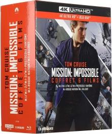 Mission : Impossible - L'intégrale 6 Films - Packshot Blu-ray 4K Ultra HD