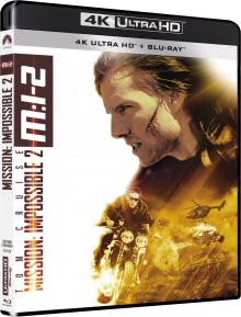 M-I:2 Mission : Impossible 2 (2000) de John Woo – Packshot Blu-ray 4K Ultra HD