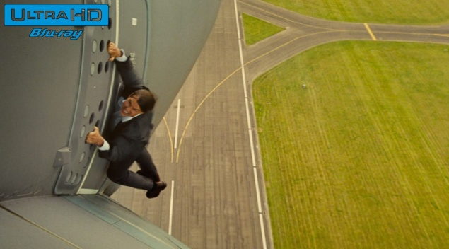 Mission : Impossible 5 - Rogue Nation (2015) de Christopher McQuarrie – Blu-ray 4K Ultra HD