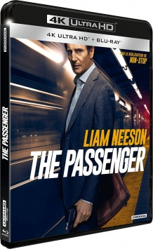 The Passenger (2018) de Jaume Collet-Serra – Packshot Blu-ray 4K Ultra HD