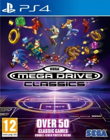 SEGA Mega Drive Classics - Packshot PlayStation 4