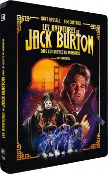 Les Aventures de Jack Burton dans les griffes du Mandarin (1986) de John Carpenter - Packshot Blu-ray