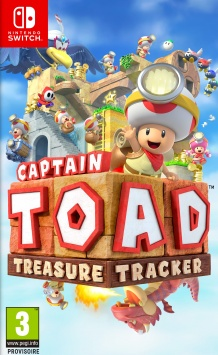 Captain Toad : Treasure Tracker - Packshot Nintendo Switch