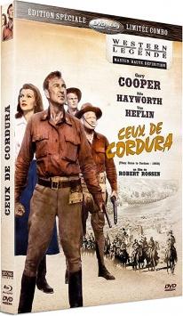 Ceux de cordura (1959) de Robert Rossen - Packshot Blu-ray