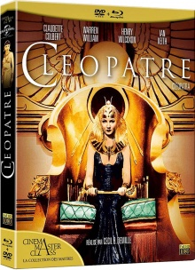 Cléopâtre (1934) de Cecil B. DeMille - Packshot Blu-ray