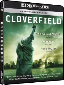 Cloverfield (2008) de Matt Reeves - Packshot Blu-ray 4K Ultra HD