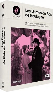 Les Dames du Bois de Boulogne (1945) de Robert Bresson - Packshot Blu-ray