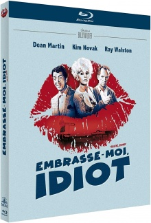 Embrasse moi, idiot (1964) de Billy Wilder - Packshot Blu-ray