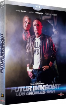 Futur immédiat - Los Angeles 1991 (1988) de Graham Baker - Packshot Blu-ray