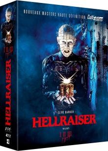 Hellraiser Trilogy I, II et III - Packshot Blu-ray