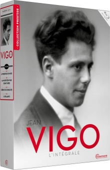 Jean Vigo - L'intégrale - Packshot Blu-ray