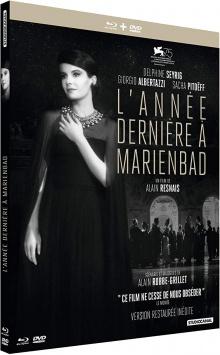 L'Année dernière à Marienbad (1961) de Alain Resnais - Packshot Blu-ray