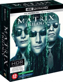 Matrix - Coffret trilogie - Packshot Blu-ray 4K Ultra HD