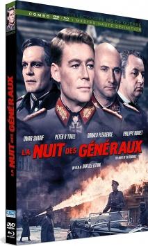 La Nuit des généraux (1967) de Anatole Litvak - Packshot Blu-ray