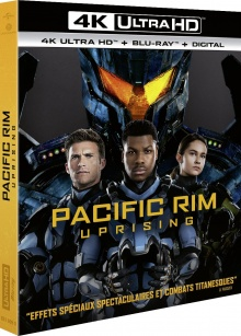 Pacific Rim : Uprising (2018) de Steven S. DeKnight – Packshot Blu-ray 4K Ultra HD