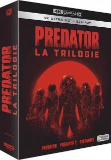 Predator - La Trilogie - Packshot Blu-ray 4K Ultra HD
