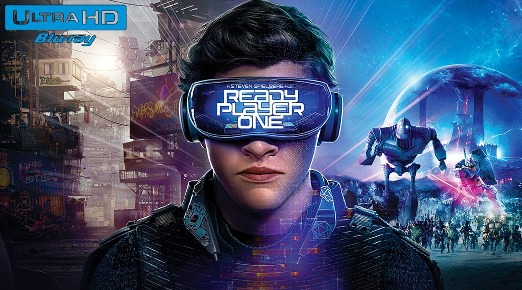 Ready Player One (2018) de Steven Spielberg – Blu-ray 4K Ultra HD