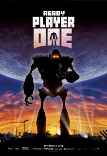 Ready Player One (2018) de Steven Spielberg - Affiche Le Géant de fer