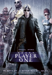 Ready Player One (2018) de Steven Spielberg - Affiche Matrix