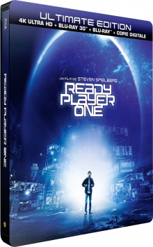 Ready Player One (2018) de Steven Spielberg – Packshot Blu-ray 4K Ultra HD