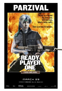 Ready Player One (2018) de Steven Spielberg - Affiche Rambo 2 : La Mission