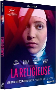 La Religieuse (1966) de Jacques Rivette - Packshot Blu-ray