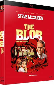 The Blob - Danger planétaire (1958) de Irvin S. Yeaworth Jr. - Packshot Blu-ray