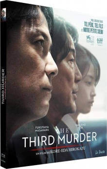 The Third Murder (2017) de Hirokazu Kore-eda - Packshot Blu-ray