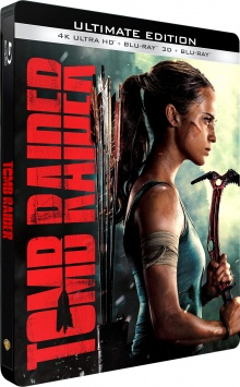 Tomb Raider (2018) de Roar Uthaug – Packshot Blu-ray 4K Ultra HD