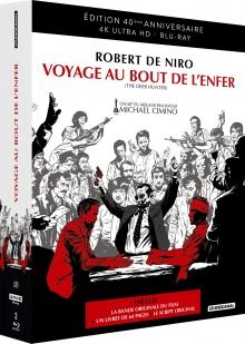 Voyage au bout de l'enfer (1978) de Michael Cimino – Packshot Blu-ray 4K Ultra HD