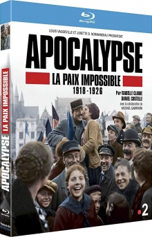 Apocalypse : La paix impossible 1918-1926 – Packshot Blu-ray